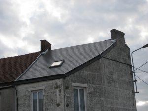 rénovation de toiture en éternits par l'entrepreneur en rénovation SGP à Charleroi