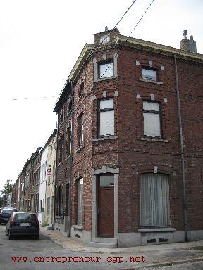 Rénovation d'une maçonnerie en brique par Ets SGP Charleroi